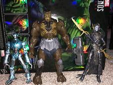 Marvel Legends Cull Obsidian BAF 99% Complete Corvus Glaive Walmart Ultron