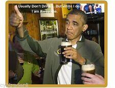 Funny President Barrack Obama  Refrigerator / Tool Box / Locker  Magnet