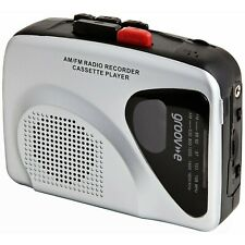 Groov-e Portable Retro Personal Cassette Player and Recorder with Built-In Sp...