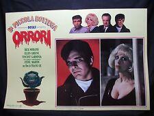 FOTOBUSTA CINEMA - LA PICCOLA BOTTEGA DEGLI ORRORI - R. MORANIS-1986-COMMEDIA-02