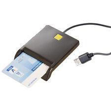 Xystec USB-Chipkarten-Leser & Smartcard-Reader, HBCI-fähig für Homebanking