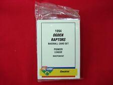 1994 OGDEN RAPTORS MINOR LEAGUE TEAM SET FLEER PROCARDS FACTORY SEALED VERY NICE
