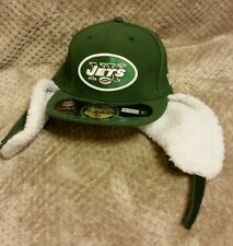 New Era New York Jets On Field Dog Ear 59FIFTY Fitted Hat Cap 7.5 NWT