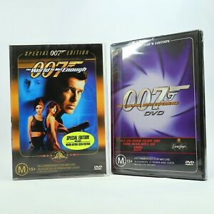 The World Is Not Enough (DVD, 2002) Pierce Brosnan DVD + Bonus Disc GC