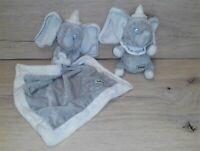 Poshpaws Posh Paws Disney Dumbo Baby Comforter & Comfort Blanket Soft Plush Toy