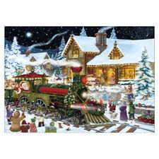 Art Christmas Scene Full Drill DIY 5D Diamond Painting Embroidery Cross Stitch