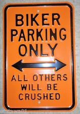 Harley Davidson Biker Sign Advertising Garage Bar Motorcycle Wall Decoration