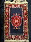 "Vintage All Wool Pakistani Rug 25"" x 39"" Handwoven New York Dealer"