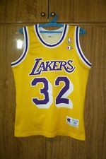 Los Angeles Lakers Champion NBA Jersey #32 Magic Johnson LA Basketball Size XS