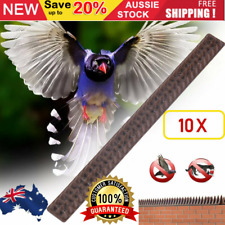 10Pcs Fence Wall Spikes Bird Pigeon Repeller Animal Deterrent Repellent Thorn AU