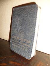 Agenda de poche 1932 - Café Métropole - Braine-le-Comte - Usagé - TTB+++