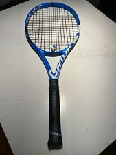 Babolat Pure Drive 4 3/8 Freshly Strung with Solinco Confidential