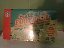 2005 Topps Heritage Fooball Hobby Box 24 packs / 8 cards Aaron Rogers (B80)