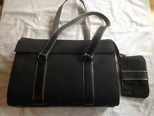 "Tumi Attache Carry on Laptop Bag, Stiff Ballistic Nylon, 16"" x 12"" x 6"""