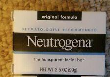 Neutrogena Transparent Facial Bar Soap Original Formula 1 - 3.5 oz  Bar