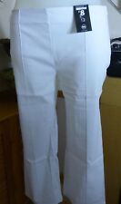 George - White crops - 3/4 trousers - size 12 new with tags