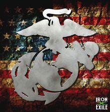 US Marine Corps. EGA Metal Wall Art Sign USMC Plasma cut OFFICIALLY LICENSED