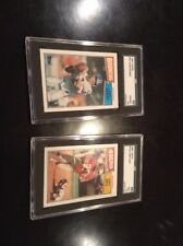 1987 Topps Jerry Rice John Elway SGC Graded