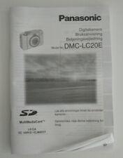 - Panasonic Instruction Manual DMC-LC20E - Digital Camera SE DK