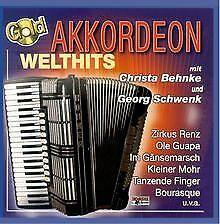 Akkordeon Welthits,Gold von Bogner  BOGNER RECORDS | CD | Zustand sehr gut