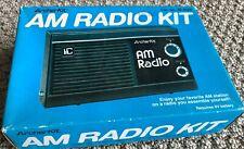 VINTAGE ARCHERKIT AM TRANSISTOR RADIO IN ORIGINAL BOX - ASSEMBLED WORKING