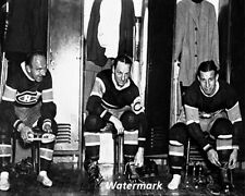 NHL 1931 Montreal Canadiens Morenz Joliat & Gagnon 8 x 10 Photo Free Shipping