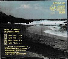 Mike Oldfield - Incantations  CD / CDVDT 101 Virgin / Made in Japan