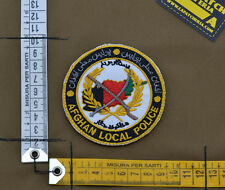 "Ricamata / Embroidered Patch ""Afghan Local Police"" with VELCRO® brand hook"