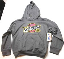 Cleveland Cavaliers Hoodie Gray Hooded Sweatshirt Size Youth Small New