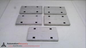 COOPER B-LINE 9A-1004 - PACK OF 5 - WEDGLE LOCK SPLICE PLATE, SEE DESC #239120