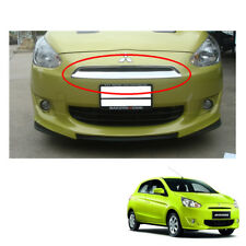 Front Grill Grille Chrome Cover 1Pc Fit Mitsubishi Mirage Space Star 2012 - 2015