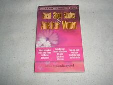 Great Short Stories by American Women 1996  soft cover book