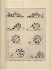 Vintage 1920 Punch RUGBY Cartoon by FOUGASSE for framing