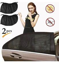 Car Rear Side Window Sun Shade Cover Visor Mesh Shield Sunshades UV Protection