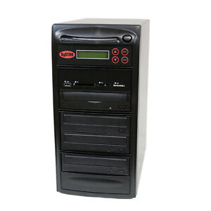 SySTOR 1-3 USB/SD/CF/MS/MMC MultiMedia Backup Copier to CD DVD Duplicator