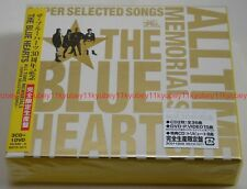 THE BLUE HEARTS 30th ANNIVERSARY ALL TIME MEMORIALS SUPER SELECTED SONGS CD DVD
