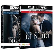 50 CINQUANTA SFUMATURE DI GRIGIO + NERO (4 BLU-RAY 4K + 2K) Edizioni Film Estese