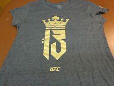 Conor McGregor Women's Gray Short Sleeve T-Shirt Reebok UFC 2XL  R9