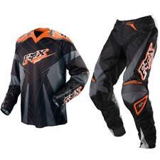 Fox Racing Adult 360 Off Road MX Gear Set Orange Black White Grey Medium / 28a
