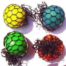 1pc Random Squishy Grape Mesh Ball Squeeze Stress Relieves Kids Toy Party Favors