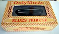 Compatible with TELE OM BLUES TRIB. HOT COIL HUMBUCKER RAIL BRIDGE PICKUP (11K)