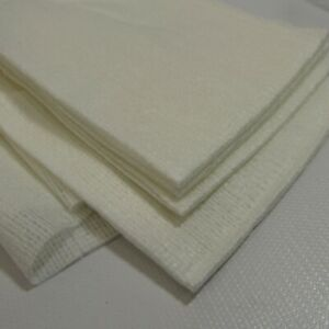 Xerox 600S04372 Cleaning Pads Lot of 25 Fabric Wipes NEW White Soft USA Made