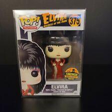 Funko Pop Elvira 2016 Funkoween 1500pc Red Dress in Protector