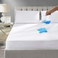 New listing Waterproof Mattress Encasement Zippered Bed Bug Hypoallergenic Protector Cover