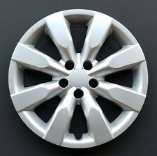 One New Wheel Cover Hubcap Fits 2014 2018 Toyota Corolla 16 Silver 8 Spoke Fits Toyota