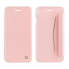 Xqisit Adour aleta posterior Transparente Folio Estuche Cubierta para iPhone 7-Rosa