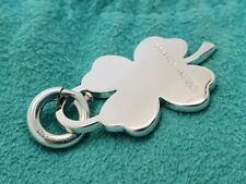 Genuine Tiffany & Co LUCKY four leaf clover charm pendant, silver rare