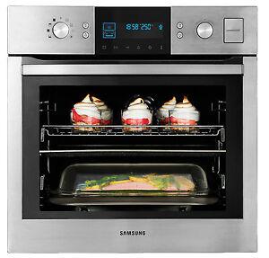 Dampfgarer BQ1VD Samsung Einbau Dampf Backofen Herd Autark Grill Einbauherd Ofen
