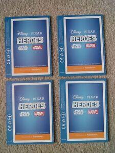 Heroes Collector Cards Star Wars, Marvel, Disney