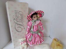 "Heritage Design Debut Porcelain Doll Nanette Ltd Ed #1417 Coa 16.5"" Boxed Mib"